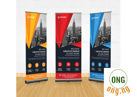 Roll Up Banners design and prints