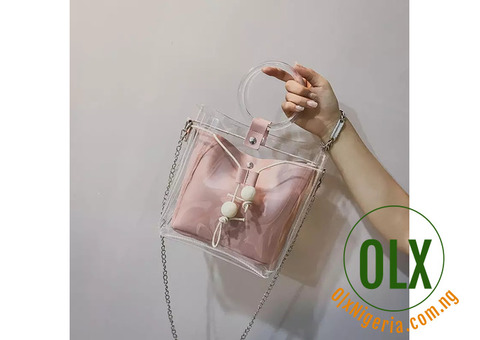 Chic Transparent Bag