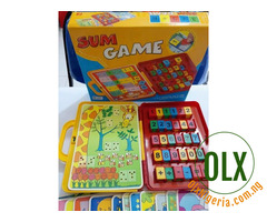 Sum Time Educational Puzzle Game for Kids